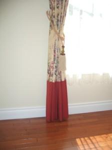 ボトム 切り替えカーテン